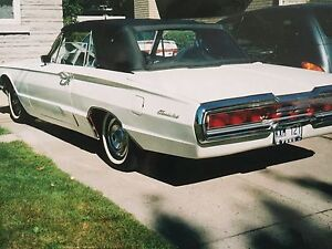 Thunderbird convertible 1966