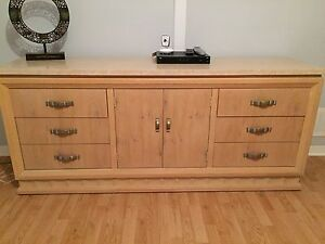 Dresser with Marble top $125