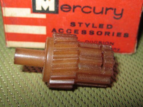 NOS 1959 Mercury speedometer Drive Gear, brown ,20 tooth