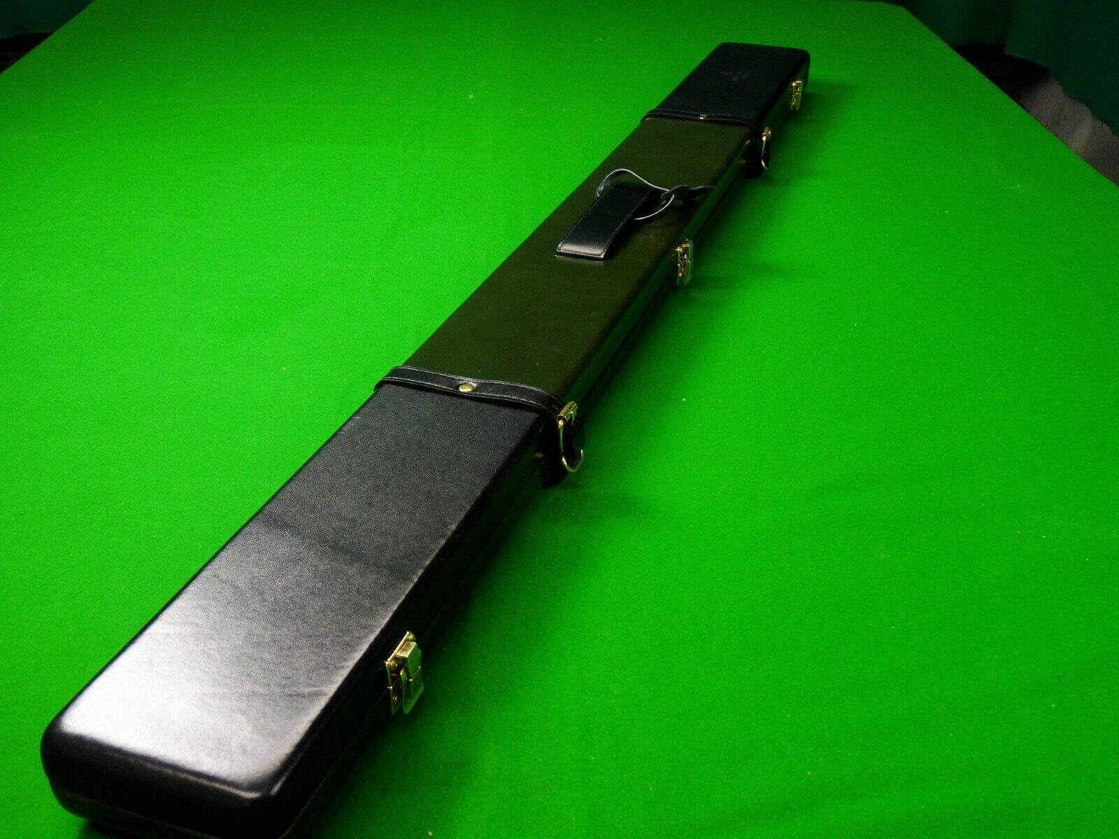 Peradon Leather 3/4 Jointed Snooker Cue Case Taupe