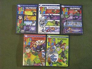 Teen Titans DVD Box Set (Season 1-5) Animated Series