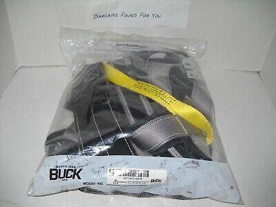 Buckingham Buck 637g8q108-m Lineman Beltstrapharness. New In Sealed Package
