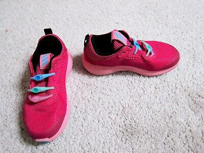 ADIDAS Girls Alphabounce Pink Athletic Shoes Kids Size 11