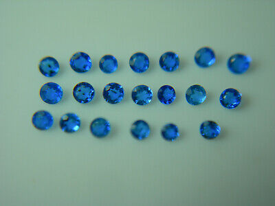 20 uber rare gems Hauynite Blue Hauyn Hauyne Eiffel Germany NATURAL FLUORESCENT, used for sale  Shipping to South Africa