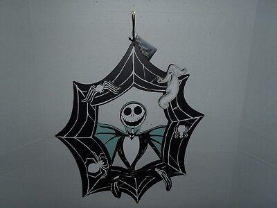 The Nightmare Before Christmas Jack  Skellington & Zero Wreath Halloween Disney ()