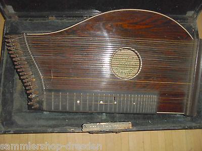 26529 Zither Parsifal 35 Seiten strings Saiten um 1900
