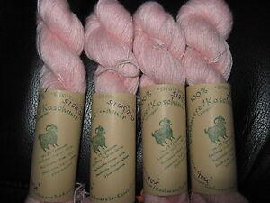 100% feinste mong. Kaschmir Wolle Cashmere Lace handgefärbt NEU + GRATIS EXTRA