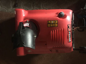 Single stage snowblower for repair or parts