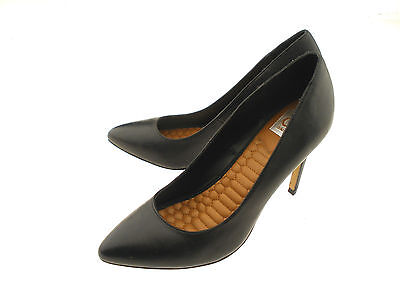 DV Dolce Vita Black Leather Upper Slip-On High Heel Pumps Size 8.5   Dolce Vita Leather Pumps