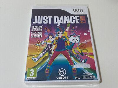 Juego JUST DANCE 2018 Nintendo Wii español Nuevo New