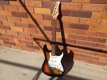 sansui electric guitar with squier amp Beenleigh Logan Area Preview