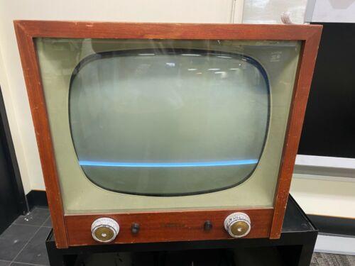 1956 Trav-Ler Television 512-110 Rare! Antique Vintage Old Tube Tv