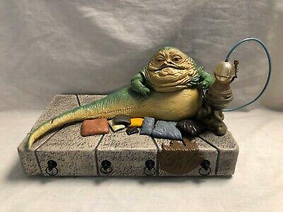 LOOSE STAR WARS SHADOW OF THE DARK SIDE (Jabba The Hutt Playset) JABBA THE HUTT