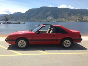 1986 Ford Mustang GT with ttops