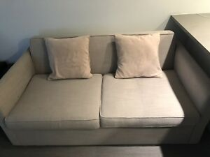 Sofa/pull out bed with foam mattress