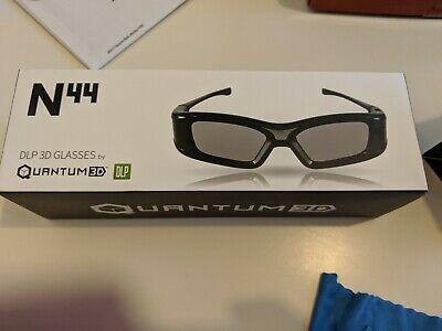G3 Quantum DLP 3D N44 Glasses for Various 3D Projectors/TVs, Active Shutter