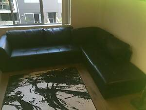 Oz Design Leather Chaise Lounge Sofa Waterloo Inner Sydney Preview