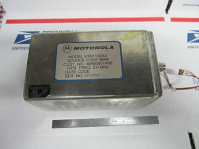 Motorola 5 Mhz Quartz Oscillator Frequency Standard 2
