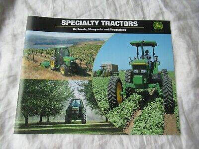 John Deere 5520 6410 7410 5520 6110 Orchard Vineyard Vegetable Tractor Brochure