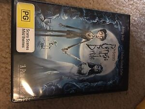 Corpse Bride DVD Valley Heights Blue Mountains Preview