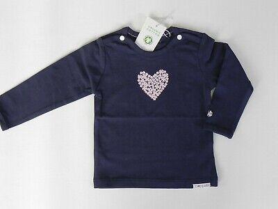 Noppies Baby Mädchen Langarmshirt Gr. 62 NEU Herz