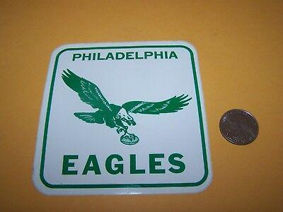 "1970s PHILADELPHIA EAGLES VINTAGE STICKER NFL FOOTBALL 4"" DECAL"