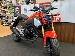 Honda Grom MSX125 Fitzroy North Yarra Area Preview