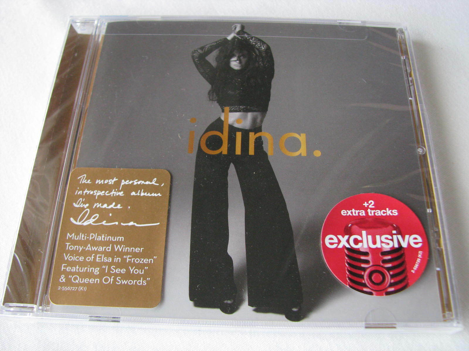 IDINA MENZEL IDINA Target Exclusive CD W/ 2 Bonus Tracks, 2016 NEW SEALED  - $14.99
