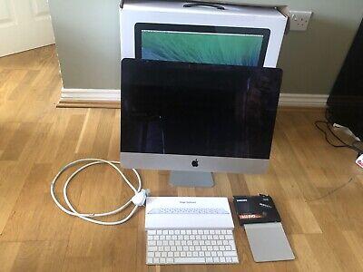 "Apple iMac 21.5"" Late 2013 with 500GB SSD Upgrade, DEDICATED NVIDIA GPU"