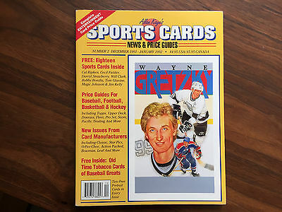 Allan Kayes Sports Cards News And Price Guides 1992  W  Wayne Gretzky   Cards
