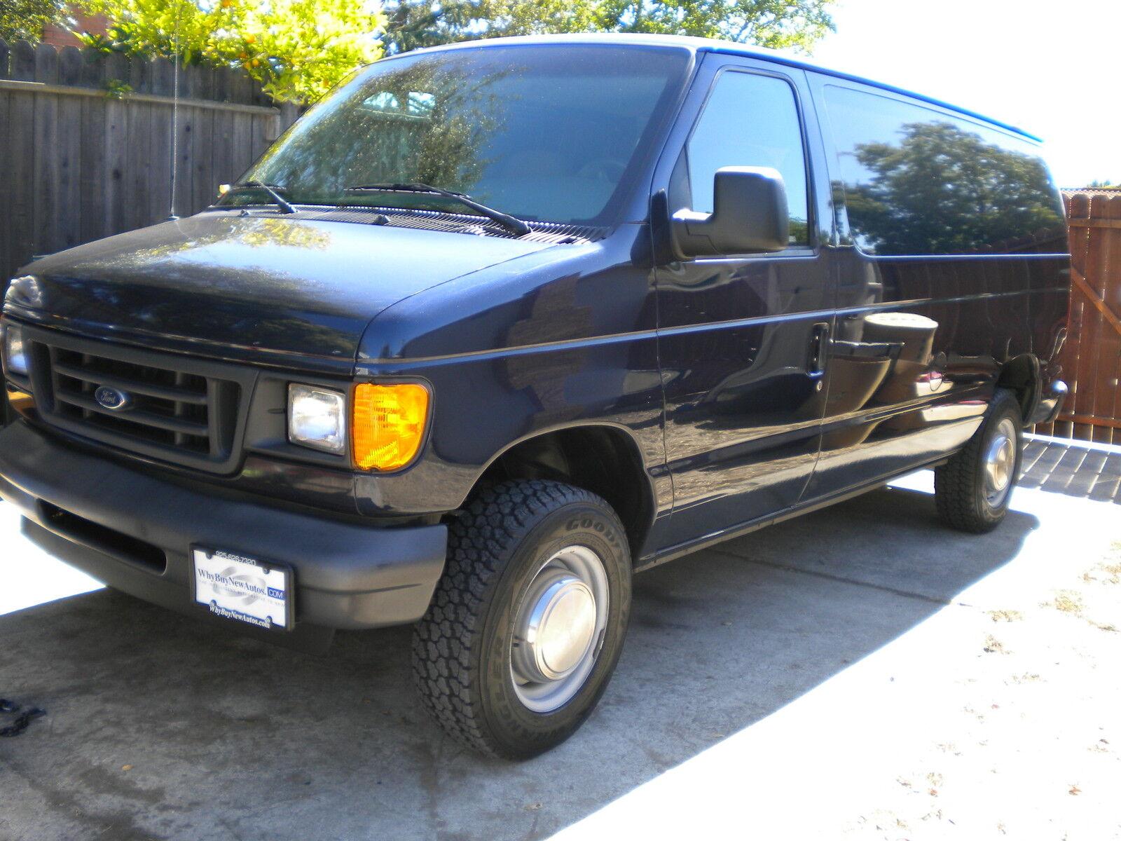 Tina's Blue Van