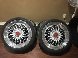 BBS Super RS 5x100 18inch BRAND NEW TIRES