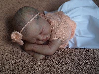 Sweet Realistic Reborn Baby Girl Doll Grace Precious Gift by Cindy Musgrove