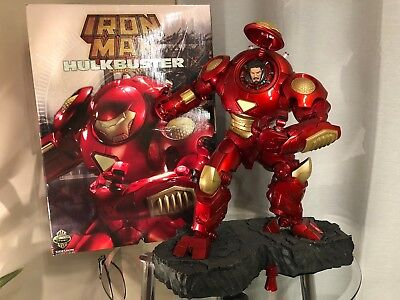 Sideshow Collectibles Marvel Hulkbuster Iron Man Exclusive Comiquette Damaged