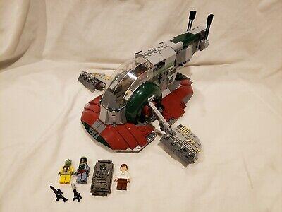 Lego Star Wars Slave I 8097 w/ Minifigures