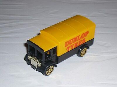 1:64 Corgi AEC Truck LKW 1920s 1930s van Dunlop Tyres lorry diesel camion black comprar usado  Enviando para Brazil