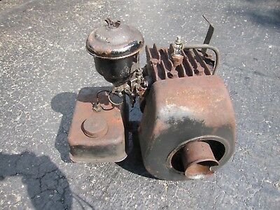 Vintage Briggs Stratton Wi Wm Wmb Stationary Engine Vintage Mower Hit Miss