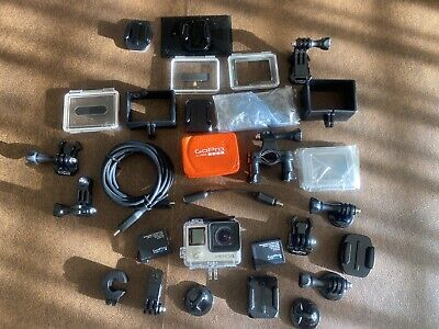 GoPro Hero 4 Silver Edition. Perfect Condition - Multiple Mounts and Adapters