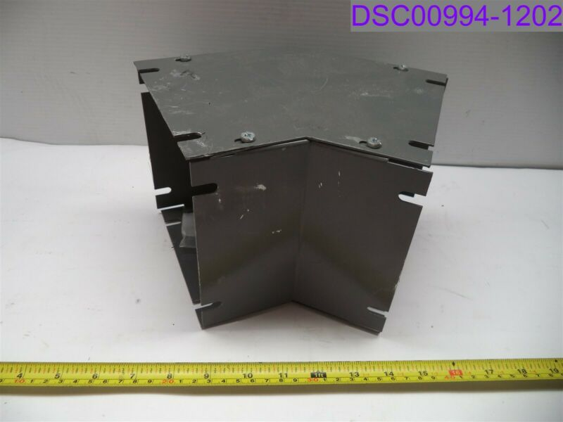 "Wireway Elbow Cold Rolled Steel 16ga 6"" x 6"" P/N CD6L45"
