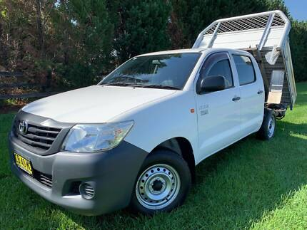 2014 Toyota Hilux WORKMATE DUAL CAB AUTO TIPPER Richmond Hawkesbury Area Preview
