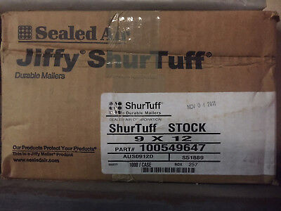 Shurtuff Durable Mailers 9 X 12 Selfseal Poly Bag 1000 Qty No Bubbles Or Padding