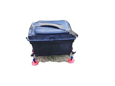 Fishing seat box With Octoplus Frame Legs