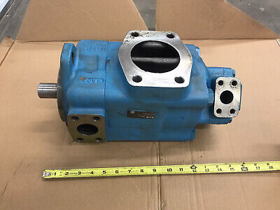 Vickers 4525v42a21-1 Ba22l Double Vane Hydraulic Pump 3.5 Inlet 4221 Gpm