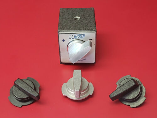 Billet aluminum replacement switch for Noga Style Magnetic Base
