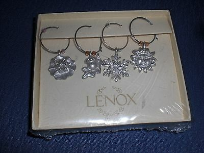 Lenox set of 4 Wine Charms NEW!