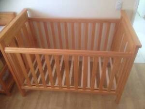 Baby cot and change table Parkwood Gold Coast City Preview