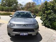 2014 Mitsubishi Outlander ES ZJ  Auto Canning Vale Canning Area Preview
