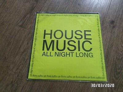 "JARV IS… - House Music All Night Long (NEW 12"" VINYL SINGLE)"