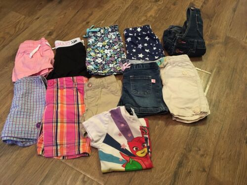 Girls Size 2t Clothes Lot Of 11 Pcs.~spring/summer~baby Gap, Oshkosh, Carter
