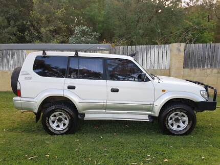 Toyota Prado Diesel Turbo - ready for the (off) road!!!